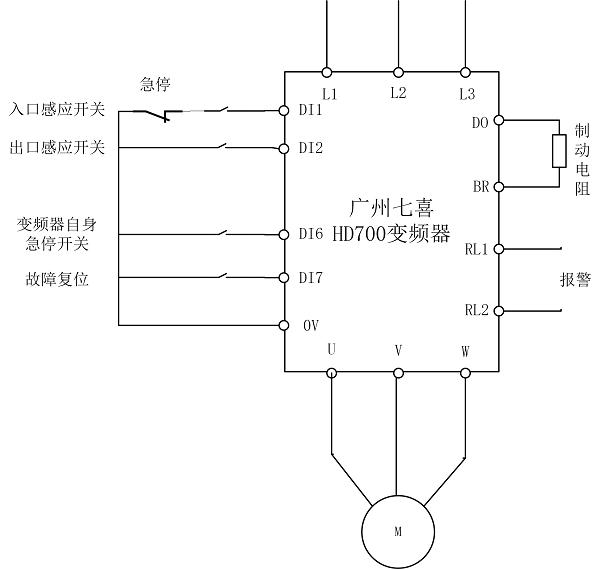 七喜HD700变频器扶梯改造方案5.png